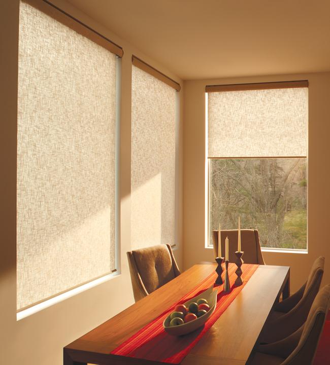 Designer Window Shades designer roller shades | skyline window coverings