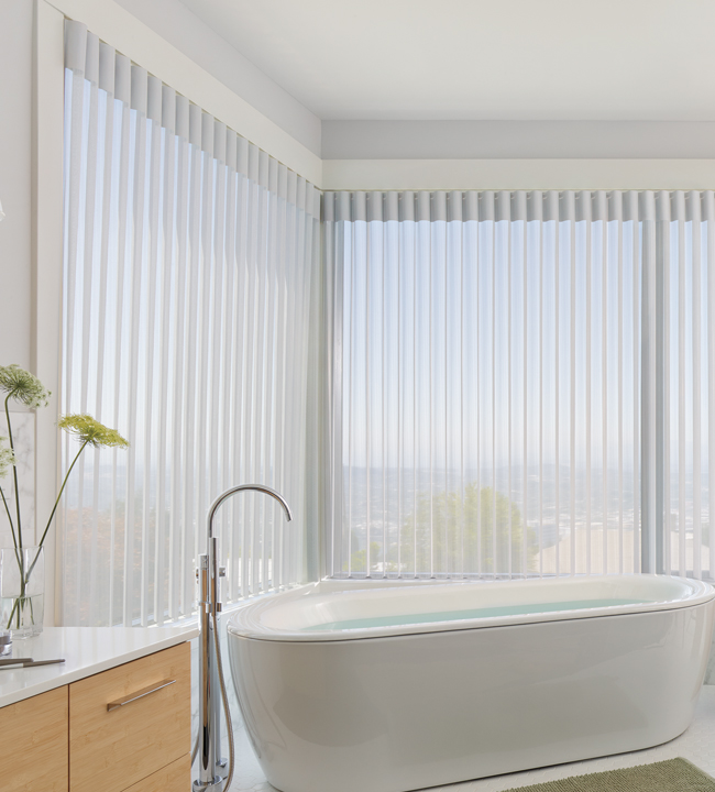 Luminette Privacy Sheers Hunter Douglas Vertical Shades