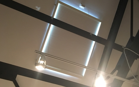 honeycomb skylight shades Chicago 60657