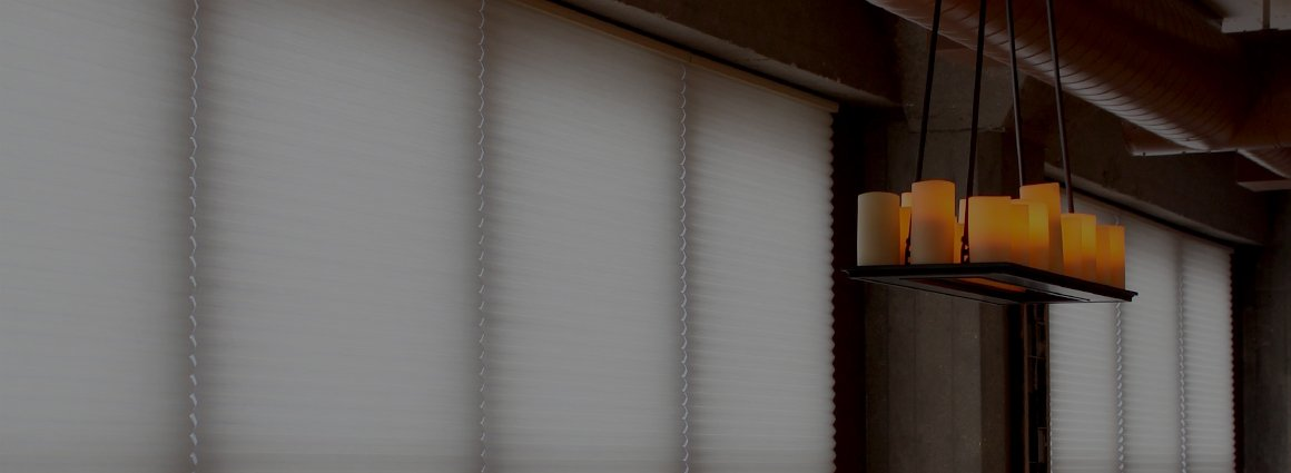 window treatments chicago by Skyline Window Coverings | Duette Architella Honeycomb Shades