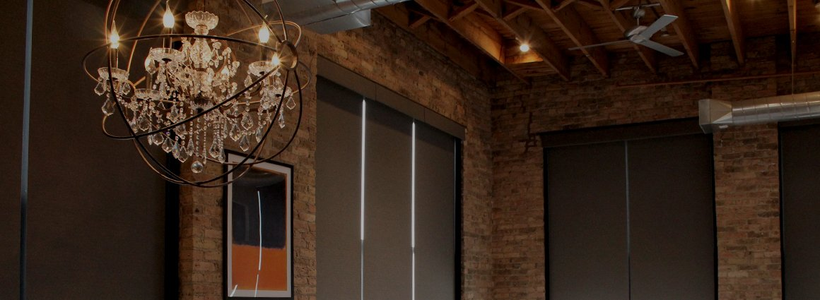window treatments chicago by Skyline Window Coverings | Designer Roller Shades
