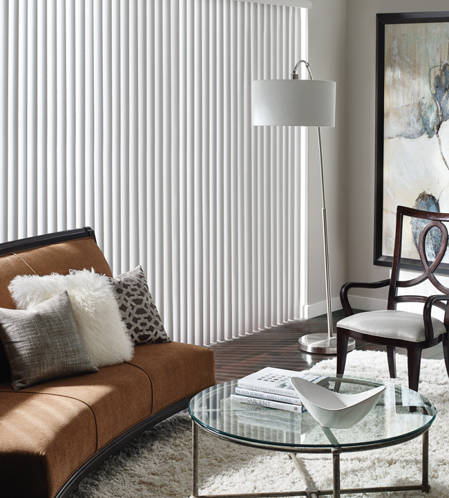 Classic Vertical Blinds Skyline Window Coverings