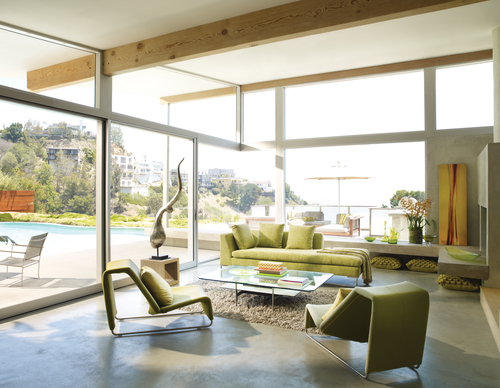 Floor To Ceiling Windows Living Room Bare Windows By Skyline