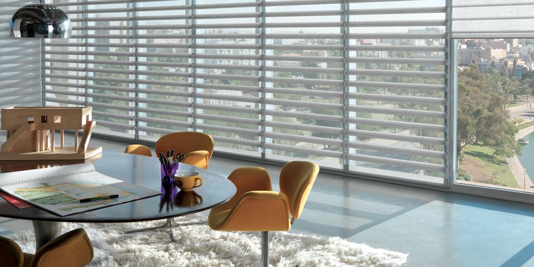 Hunter Douglas Pirouette window shades Portland 97005