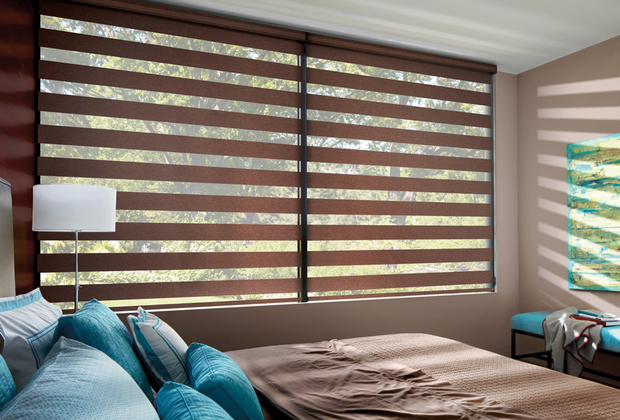 Blackout To Light Filtering Shades Bedroom Blackout Solutions By Skyline Window Coverings Skyline Window Coverings
