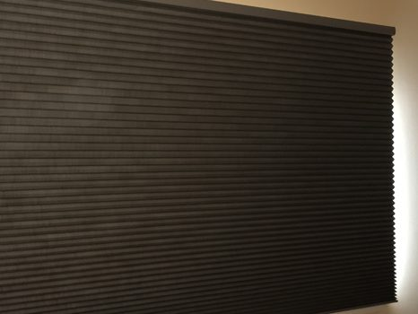Skyline Window Coverings Chicago honeycomb shade brown Window Treatments Chicago Hunter Douglas Chicago 60657