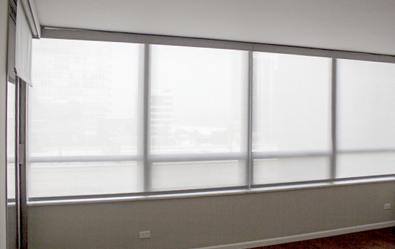 roller shades on wide windows Naperville IL