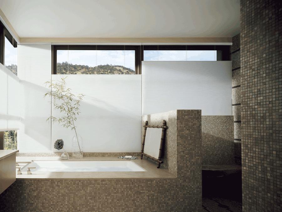 Top Down Shades Bathroom Design Hunter Douglas Hinsdale 60521