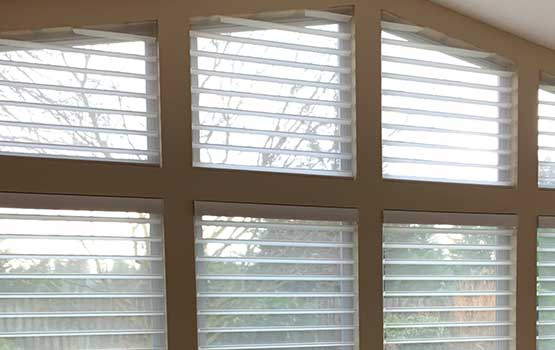 angled window shades Vancouver 98684