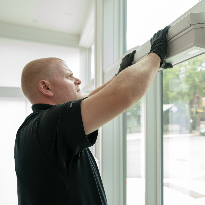 install window coverings in your new home build Chicago 60657