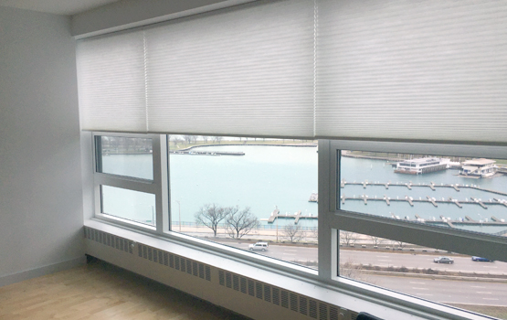 top down bottom up duette honeycomb shades Hunter Douglas Hinsdale 60521
