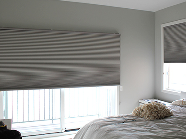 bedroom honeycomb applause shades hunter douglas skyling window coverings chicago Chicago 60611