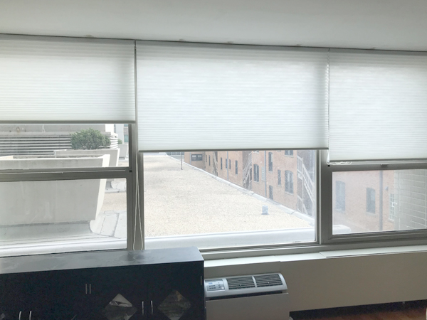 window treatments for large windows chicago condo