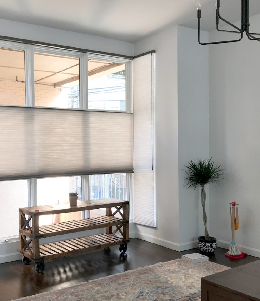 top down bottom up honeycomb shades one of the favorite features in window coverings Chicago 60611