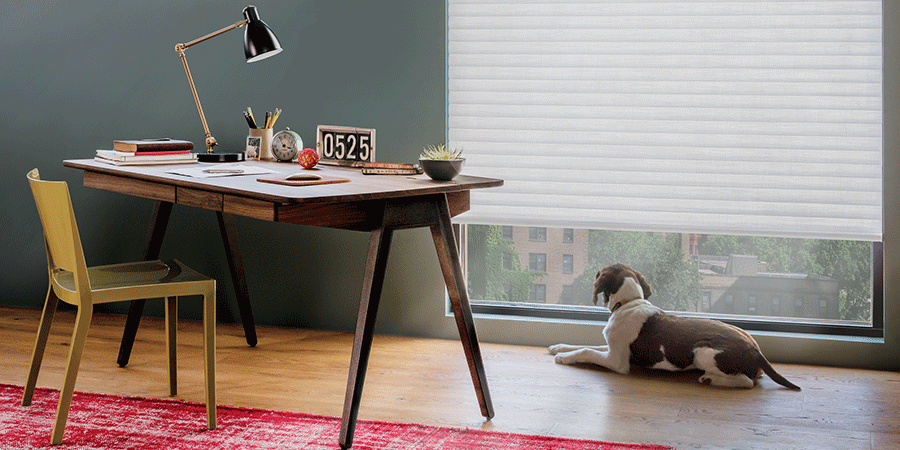 perfect window treatments for your home office Chicago 60611
