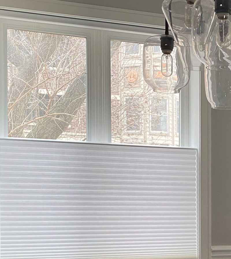 top down bottom up blinds in Chicago IL home