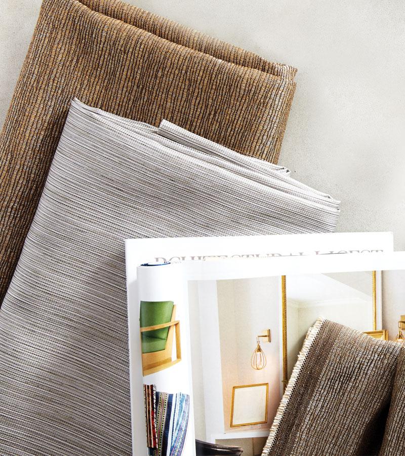 contemporary fabrics for custom window treatments Portland OR