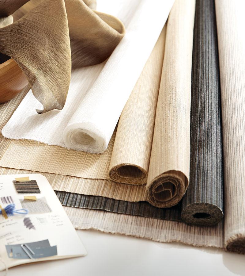 fabrics for custom window coverings Chicago 60657