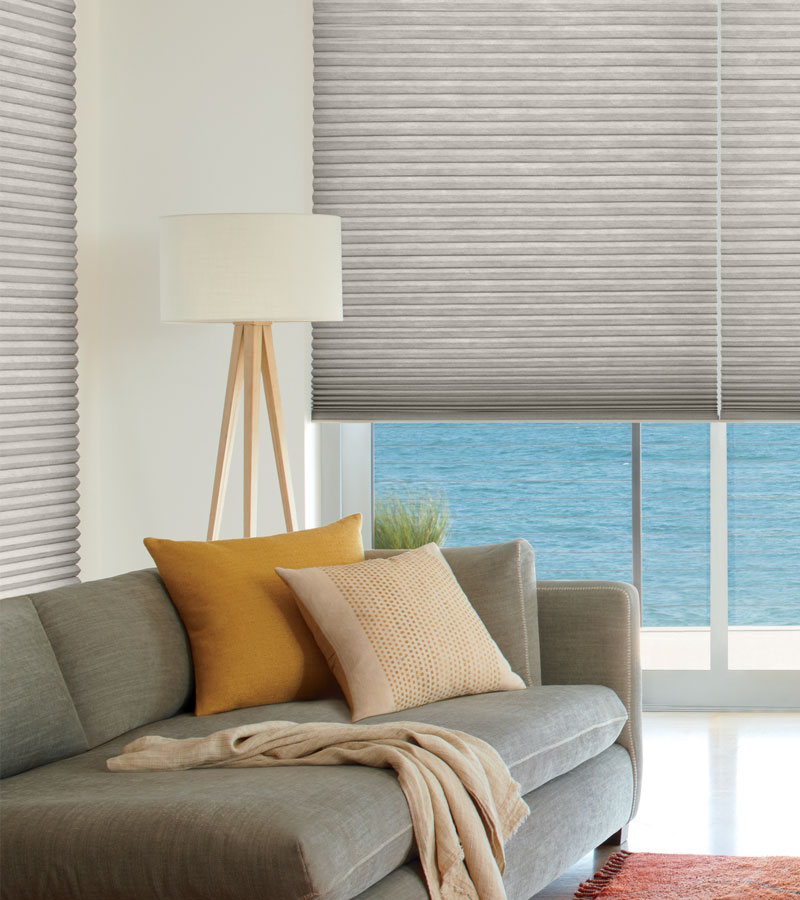 remote control cellular shades on windows in Portland OR