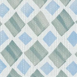 diamond geo moss blue fabric swatch for window treatments Beaverton OR