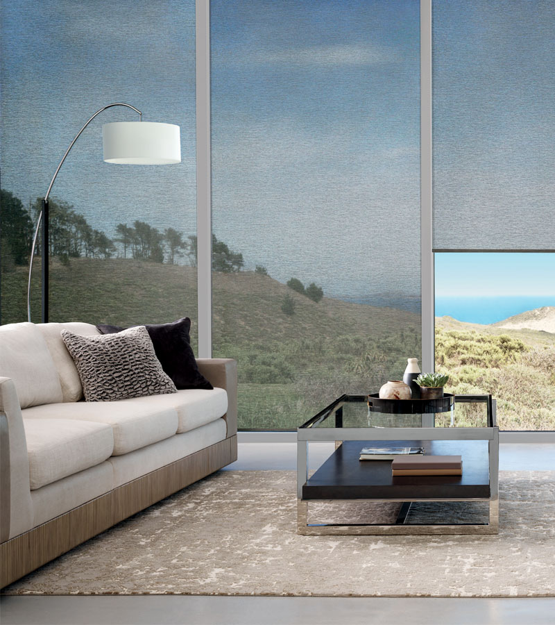 roller shades for large windows in Portland OR