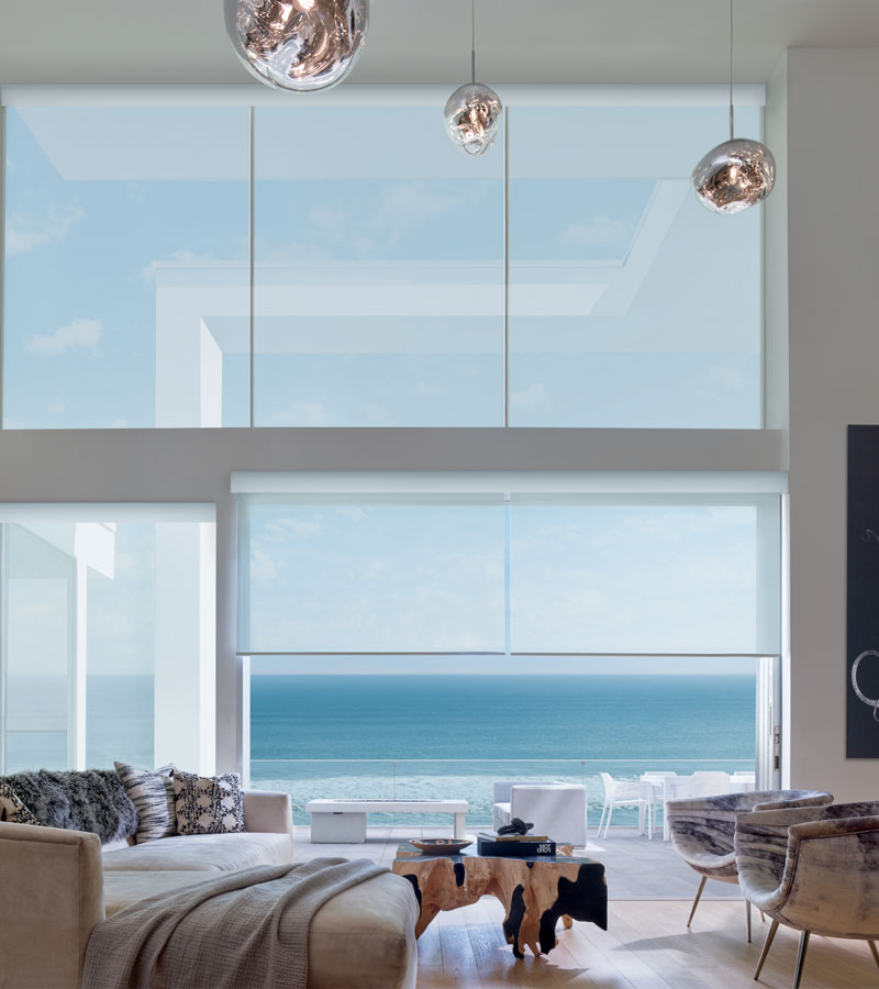 bare floor to ceiling windows in Chicago IL