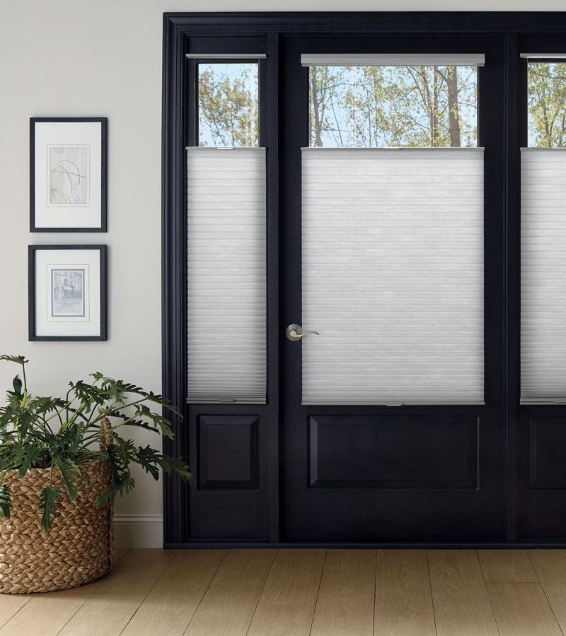 front door shades for sidelights on Beaverton OR door