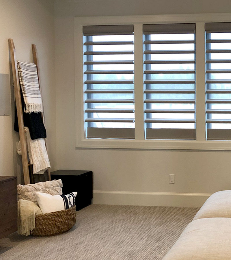 pirouette window shades in Naperville IL home