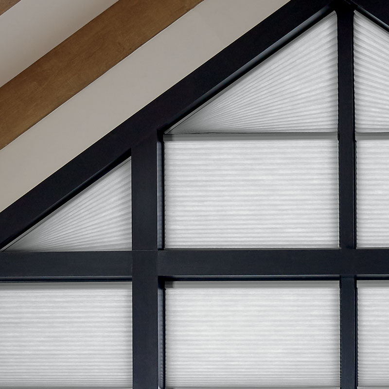 cellular shades for angled windows in Naperville IL