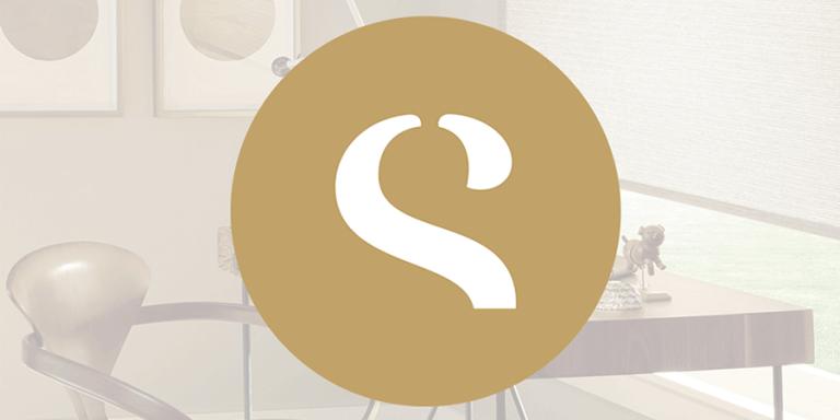 new logo for new website skyline window coverings Chicago