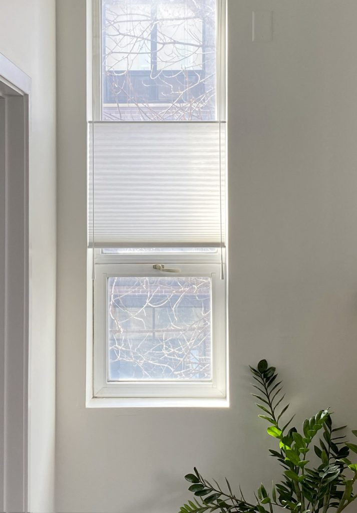 duette shades with motorized wand for hard to reach windows in Chicago IL