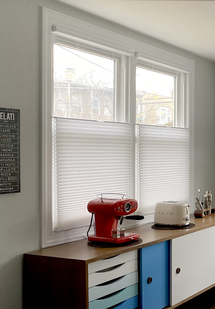 top down duette honeycomb shades