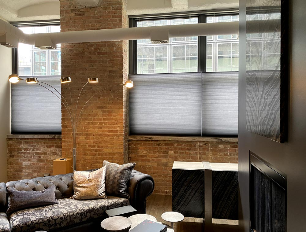 top down honeycomb shades industrial