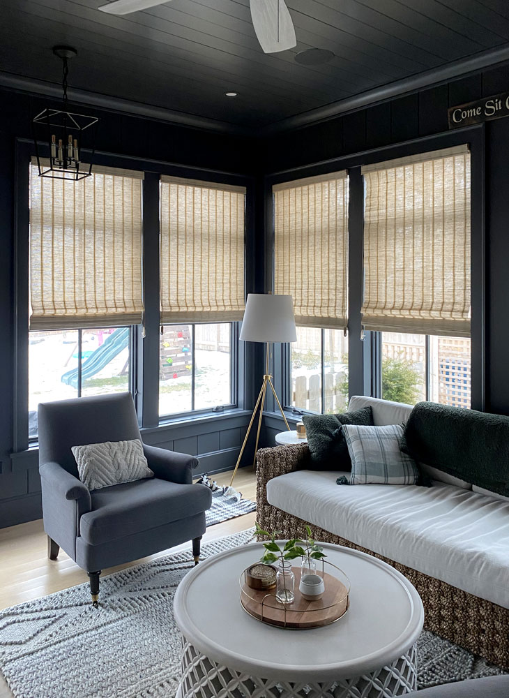 provenance woven wood shades