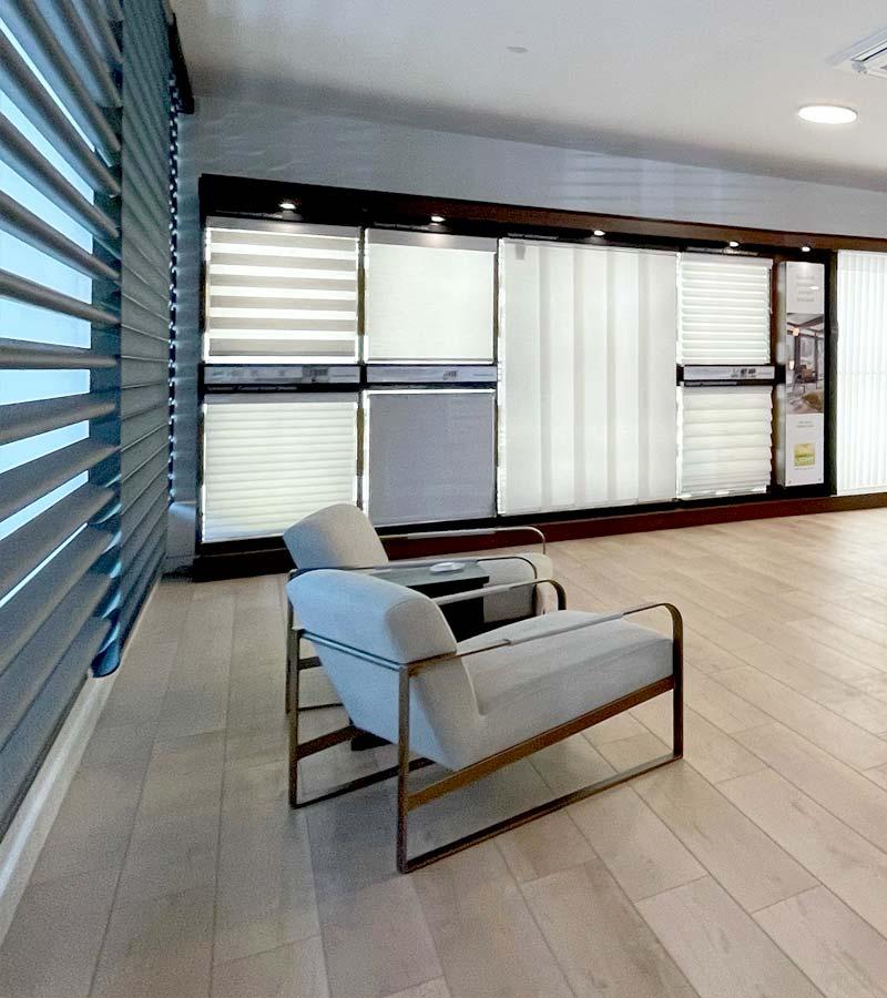 portland showroom sitting area