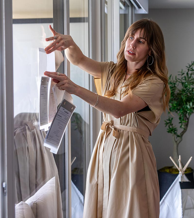 window treatment designer in-home consultation in Chicago, IL
