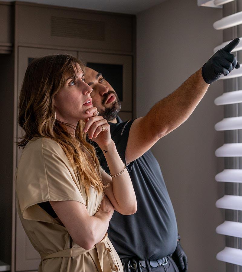 window treatment designer and installer in Chicago, IL