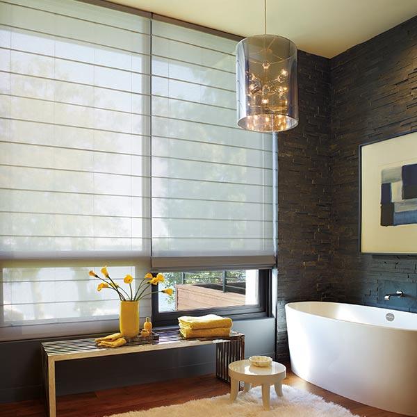 large windows in Portland, OR bathroom